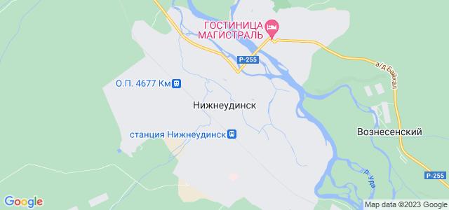 Где находиться нижнеудинск