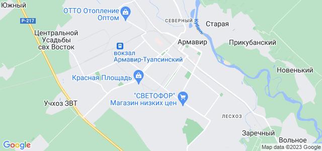 Где находится армавир россия