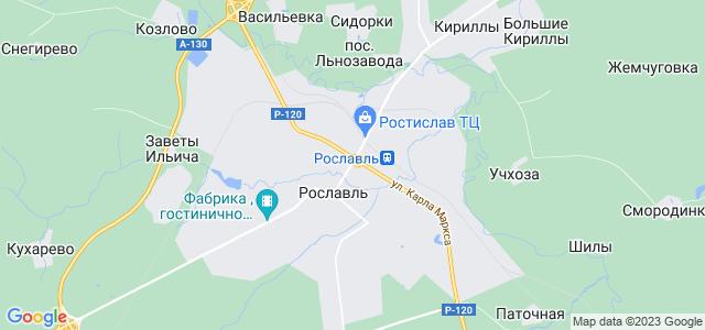 Рославль где находиться