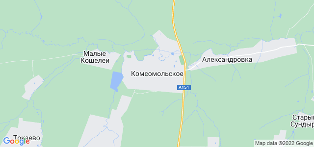 Где находится с комсомольское
